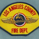 Los Angeles County California Air Operations Helicopter Fire Patch