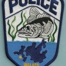 Walker Minnesota Police Patch