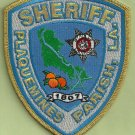 Plaquemines Parish Sheriff Louisiana Police Patch