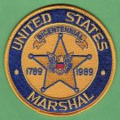United States Marshal Service Bicentennial 1789-1989 Patch