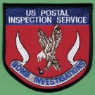Unites States Postal Inspection Service Bomb Investigations Patch