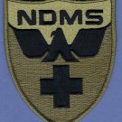 United States National Disaster Medical System Patch Green