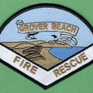 Grover Beach California Fire Rescue Patch