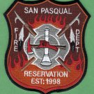 San Pasqual Indian Reservation California Fire Rescue Patch
