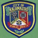 Kalamazoo Michigan Police Fire Public Safety Patch