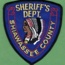 Shiawassee County Sheriff Michigan Patch