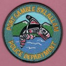 Port Gamble Washington Tribal Police Patch