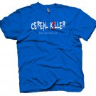 Cereal Killer funny spoon t-shirt.  Size M