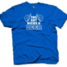 This Guy Needs A Beer T-Shirt funny cool party shirt.  Size S