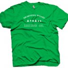 """Funny """"Morning Wood Lumber Co"""" T-Shirt.  Cool party shirt.  Size L"""