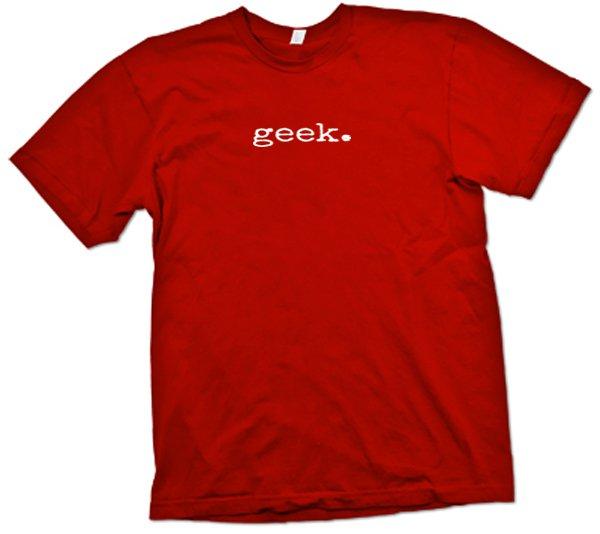 Geek t-shirt.  Funny computer nerd party shirt.  Size M