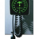 ADC 750W WALL ANEROID BLOOD PRESSURE CUFF, ADULT, BLACK