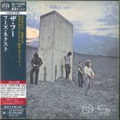 "THE WHO ""WHO'S NEXT"" JAPAN SHM-SACD DSD 2010"