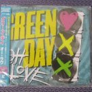 "GREEN DAY ""OH LOVE"" JAPAN 1-TRACK CD MAXI SINGLE"