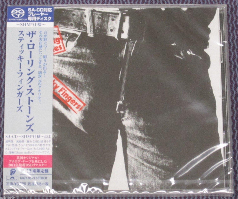 "ROLLING STONES ""STICKY FINGERS"" JAPAN SHM-SACD DSD 2014 JEWEL CASE"