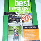 Best Newspaper Writing, 2007-2008 by Aly Colon (2007, Paperback)