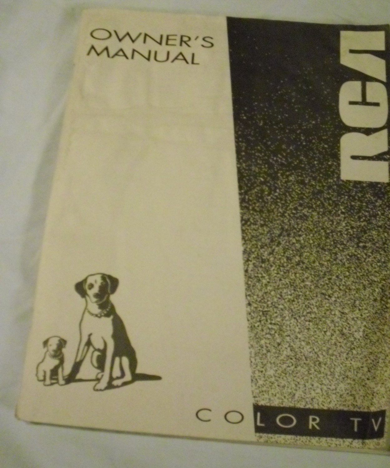 Owner's Guide 1994 RCA Color TV Manual Thomson Consumer Electronics, Inc.