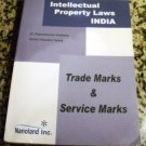 Intellectual Property Laws India: Trade Marks and Service Marks by Acharya and Tanna