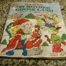 Santa in Mother Goose Land Giant Coloring Book