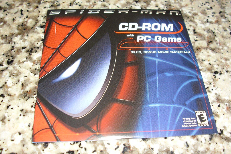 2002 SPIDERMAN Movie Kellogg's CD-Rom Computer PC Game