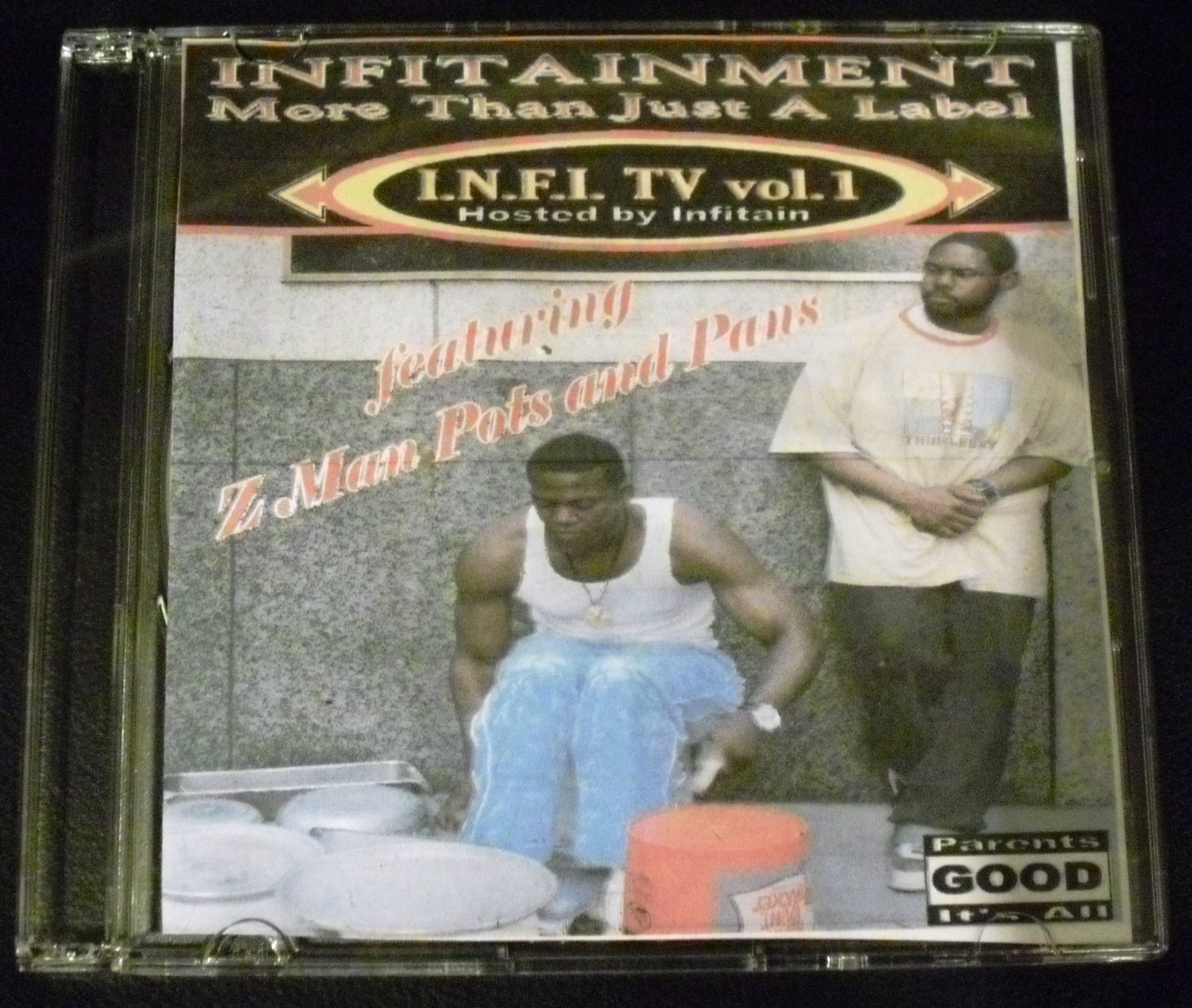I.N.F.I TV vol 1 featuring Z Man Pots and Pans (Audio CD)