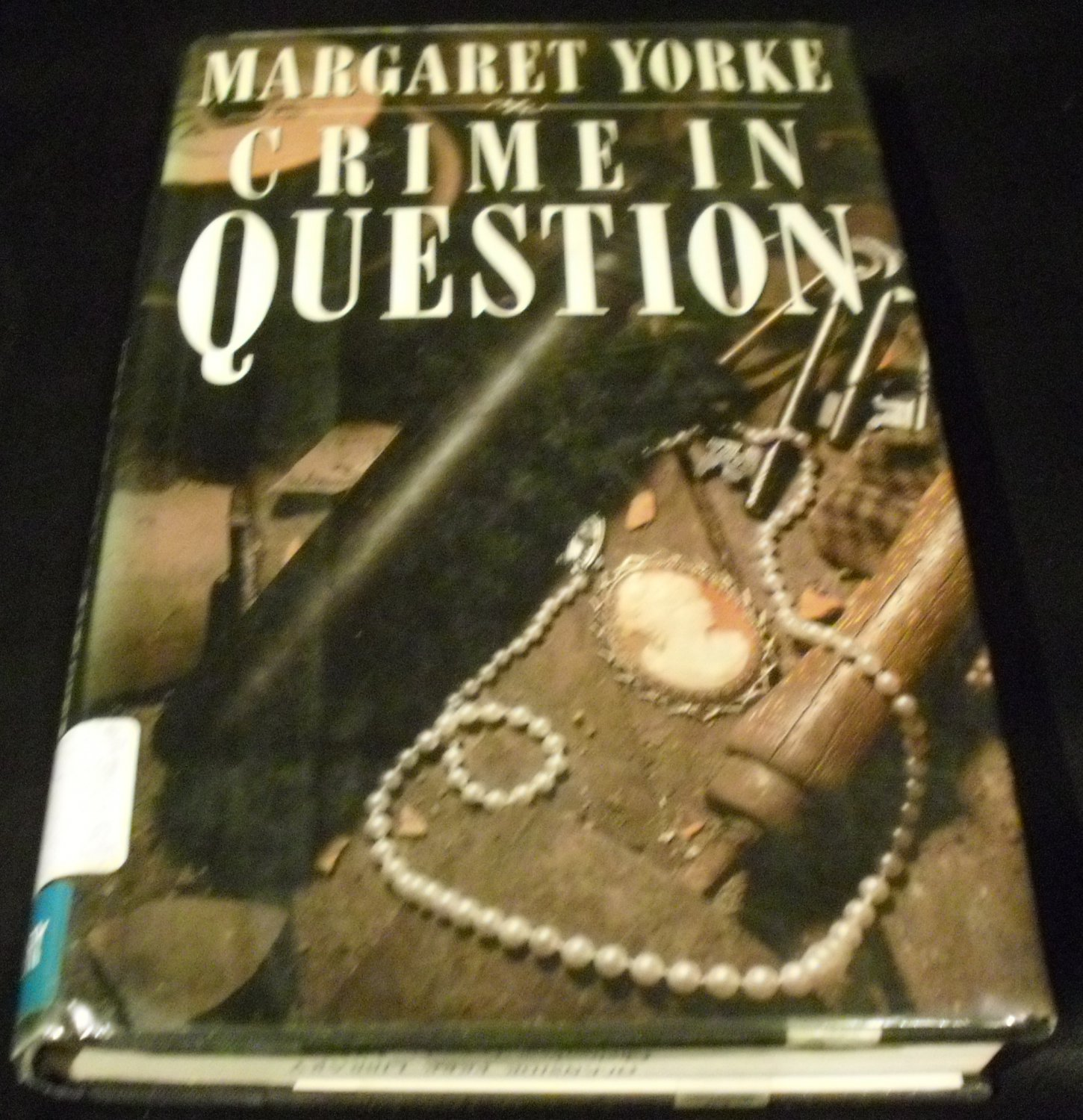 Crime in Question by Margaret Yorke (Hardcover, 1989)