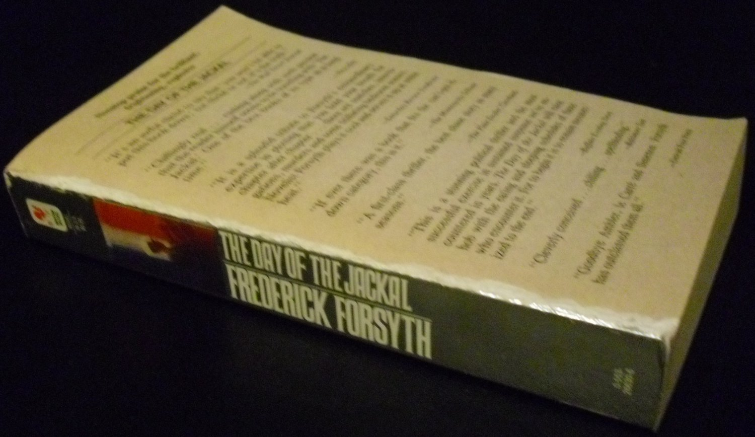 The Day of the Jackal by Frederick Forsyth (Paperback, 1992)