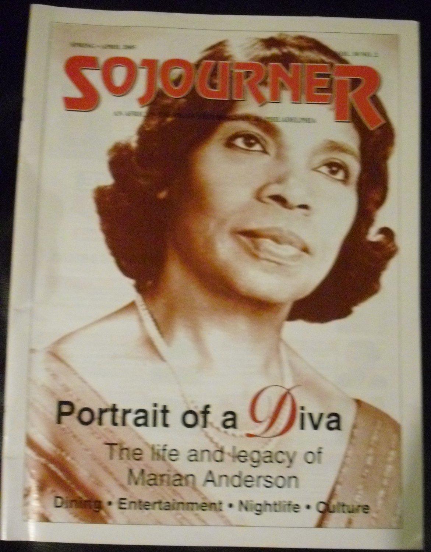 Sojourner Magazine April 2005, Vol. 10 No. 2 (Marian Anderson)