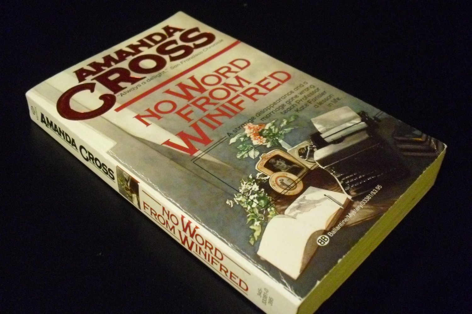 No Word from Winifred by Carolyn G. Heilbrun (Paperback, 1990)