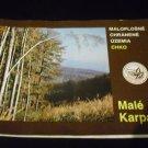 Small Protected Areas Chko (Maloplošných Chránených území Chko) Slovakian Language guide