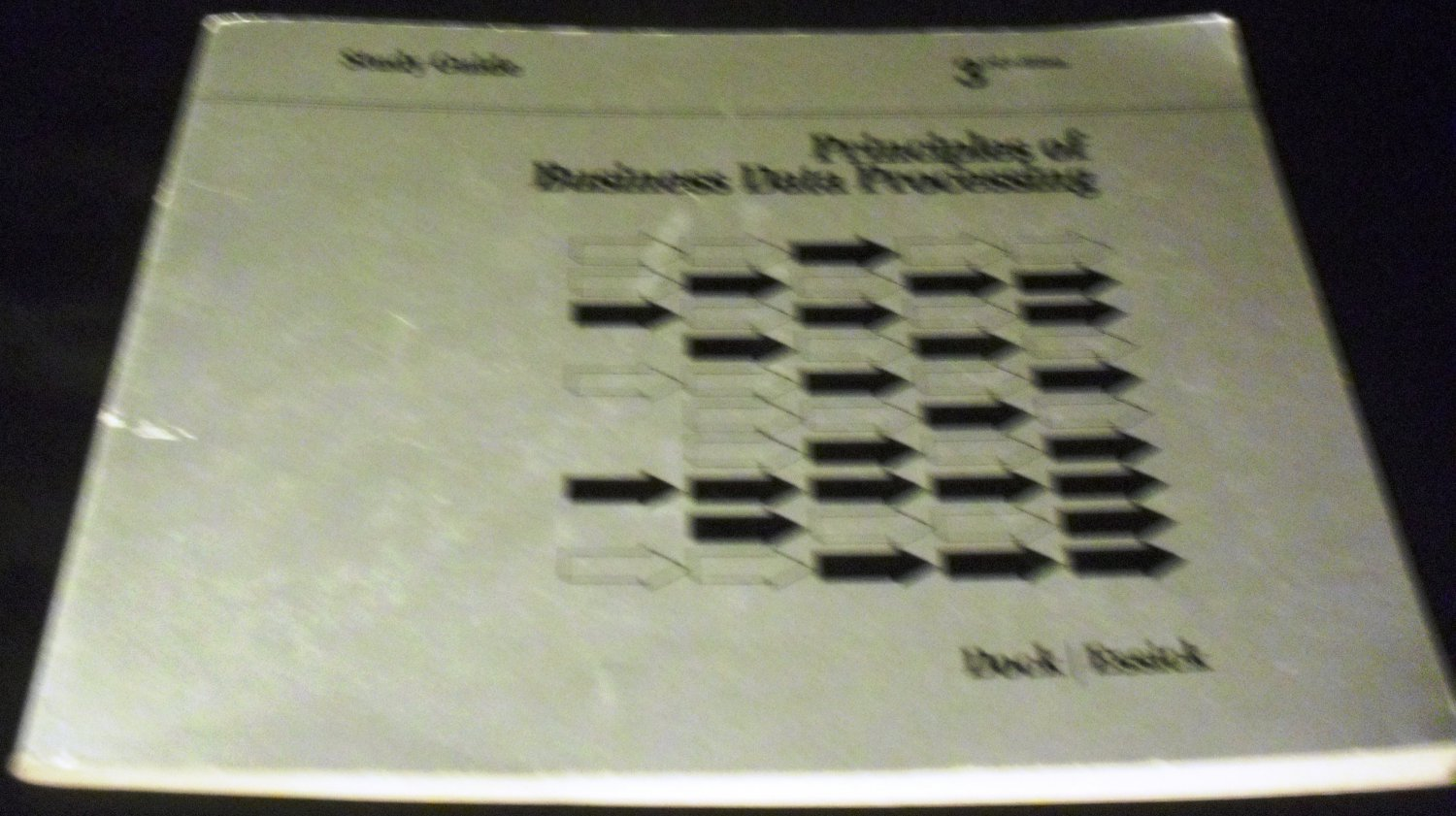 Principles of Business Data Processing: Study Guide (1978) by Dock and Essick