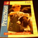 """Show Me Jesus Workbook """"God Created All Things"""" Preschool Ages 4-5"""