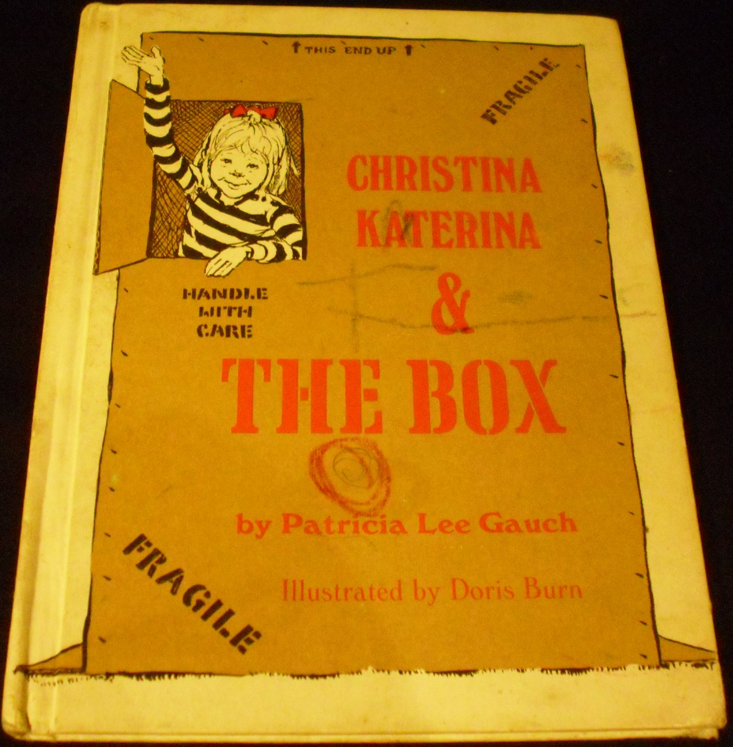 Christina Katerina & the Box by Patricia Lee Gauch (Hardcover - 1971)