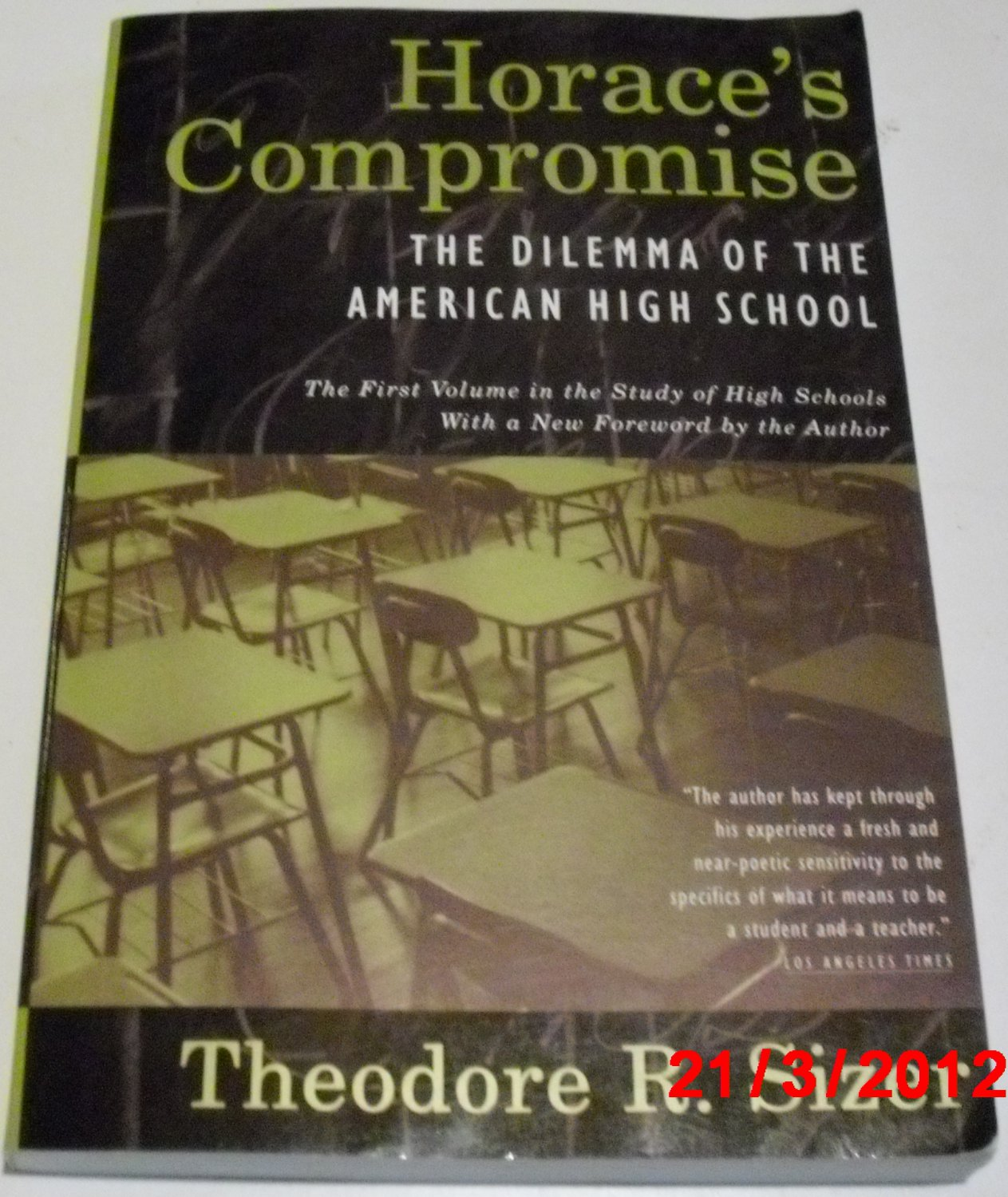 what high school is theodore sizer The new american high school [ted sizer, nancy faust sizer, deborah meier] on amazoncom free shipping on qualifying offers the late theodore sizer's vision for a truly democratic public high school system our current high schools are ill-designed and inefficient.