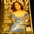 Lucky Magazine - Salma Hayek on Cover -(May, 2012)