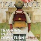 Teaching Tolerance Spring 2009