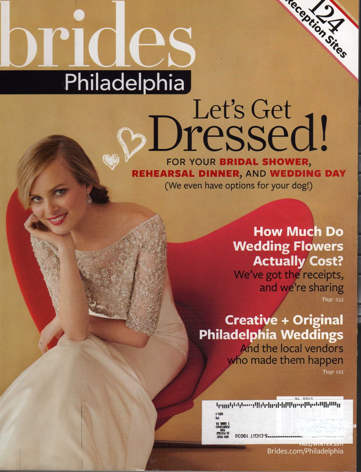 Brides Philadelphia Magazine Fall/Winter 2011