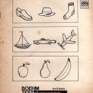 Boehm Test of Basic Concepts, Form B, Booklet 1 [1970] Boehm, Ann E.