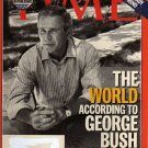 Time Magazine September 6, 2004 (The World According to George Bush)