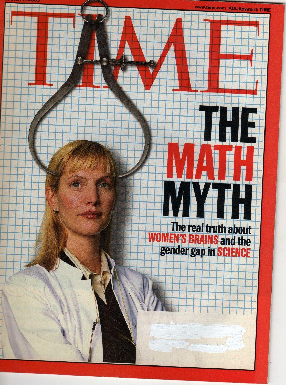 TIME Magazine March 7, 2005 (The Math Myth)