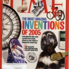 TIME Magazine November 21, 2005 (The Most Amazing Inventions of 2005)