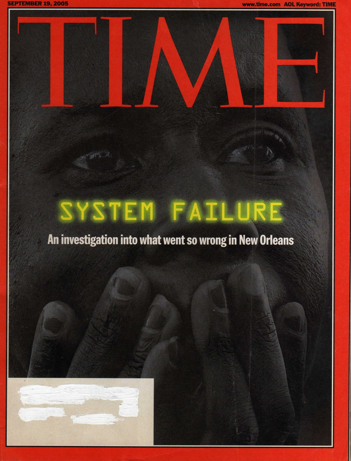 TIME Magazine September 19, 2005 (System Failure)