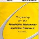 Preparing for the Philadelphia Mathematics Curriculum Framework Teacher's Edition, Vol. 2