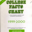 College Facts Chart for Students, Parents and Counselors1999-2000 by the National Beta Club