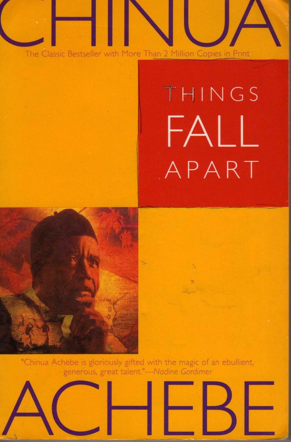 """a portrait of the ibo culture in things fall apart by chinua achebe - chinua achebe, things fall apart this is a book of many contrasts colonialism and traditional culture, animism and christianity, the masculine and the feminine, and the ignorant and the aware (although who is who depends on who """"the drums were still beating, persistent and unchanging."""