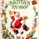 A Little Golden Book Santa's Toy Shop by Al Dempster and The Walt DisneyStudio (Hardcover 1950)
