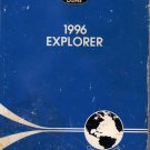 Ford 1996 Explorer Owner Guide