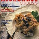 Family Circle/ Great Ideas Microwave Cooking 1988 bonus Food and Wine pocket wine primer