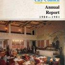 Philadelphia City Council Annual Report 1980-1981