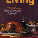 Magazine Martha Stewart Living (Thanksgiving Solved, November 2008)